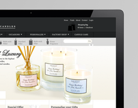 Lower Lodge Candles - Magento Ecommerce