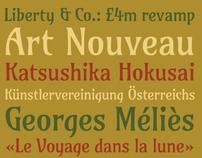 Amarante Typeface