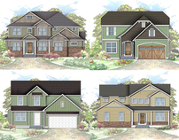 2D Custom Elevation Renderings