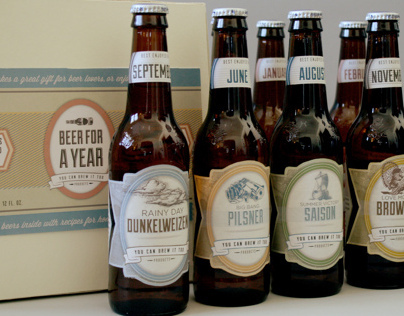 Beer Calendar Labels