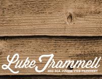 Luke Trammell, Junior Class Vice President