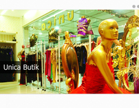 Unica Butik - Unica Boutique Web Design