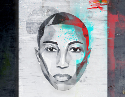 graphic  Pharrel