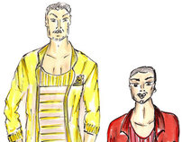 Mens Wear_ SKETCHES
