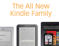 Kindle Advertising Campaign