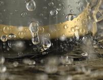 3D Hansa Beer Cans - Packaging & Advertising