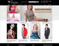 Ziess Fashion E-Commerce Website