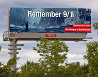Remember 9/11 - Billboard