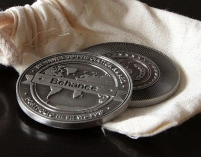 Behance Appreciation Coin 2012