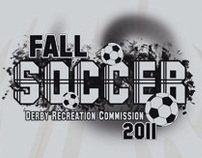 Derby Recreation Commision Fall Soccer T-shirt