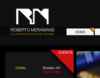 Roberto Mermand Web Site