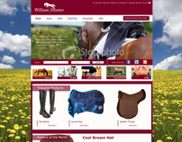 William Hunter Equestrian - E-commerce website
