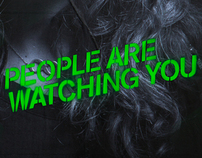 People are watching you
