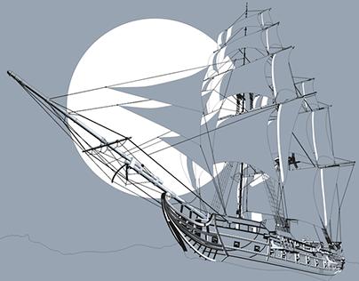 Jackdaw - Pirate Ship