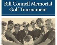 Bill Connell Golf Tournament flyer
