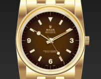 Rolex Illustration and Advertisement