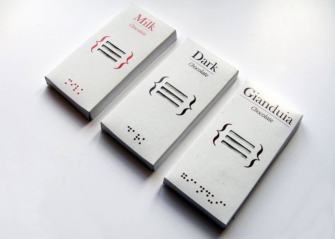 Multisensorial chocolate bars
