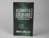Alexander A. Goldfarb Exhibition Postcard