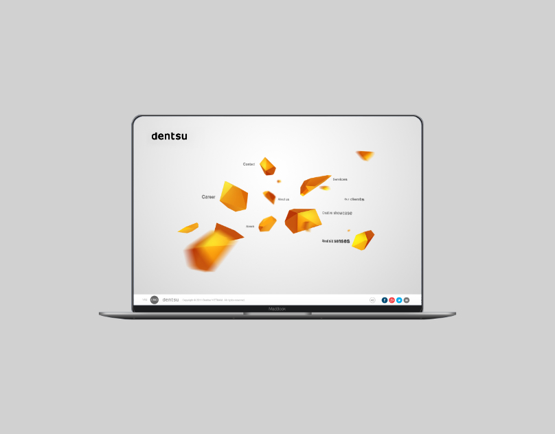 dentsu Vietnam website