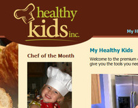 Healthy Kids Inc Website