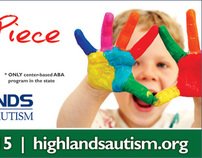 Highlands Autism Billboard