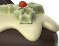 3D Thorntons Chocolate Shoe - Advertising Imagery