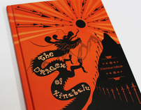 Hardcover Folktale Story Book Design.