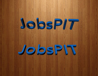 3d Text use for JobsPit Ad