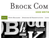 Brock Communications Website