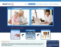 Cash Advance Service Provider Web Design Template