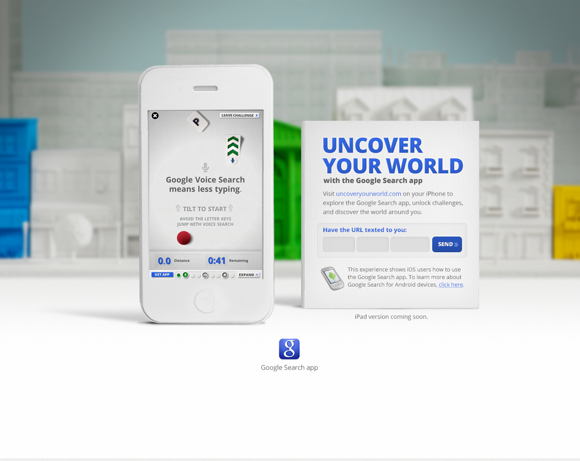 Google Mobile Ad - Uncover Your World