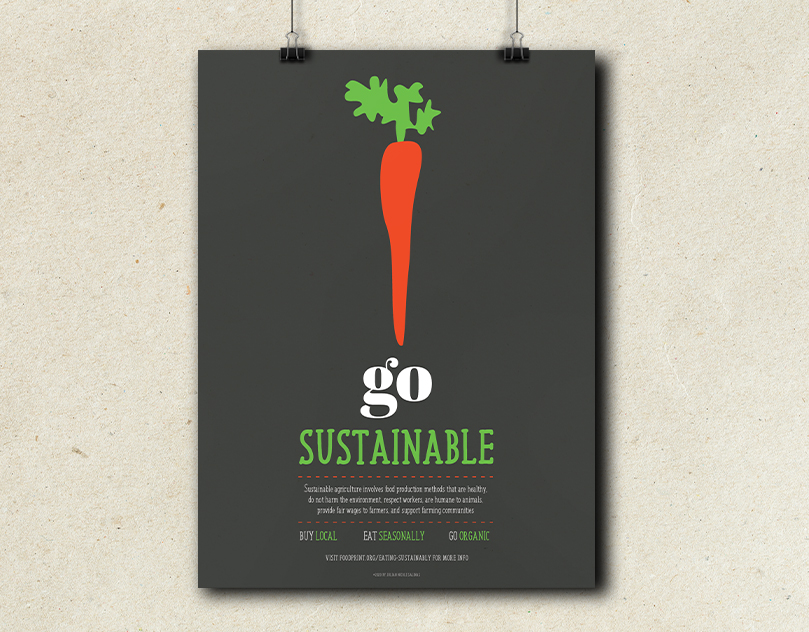 Sustainability Poster Series