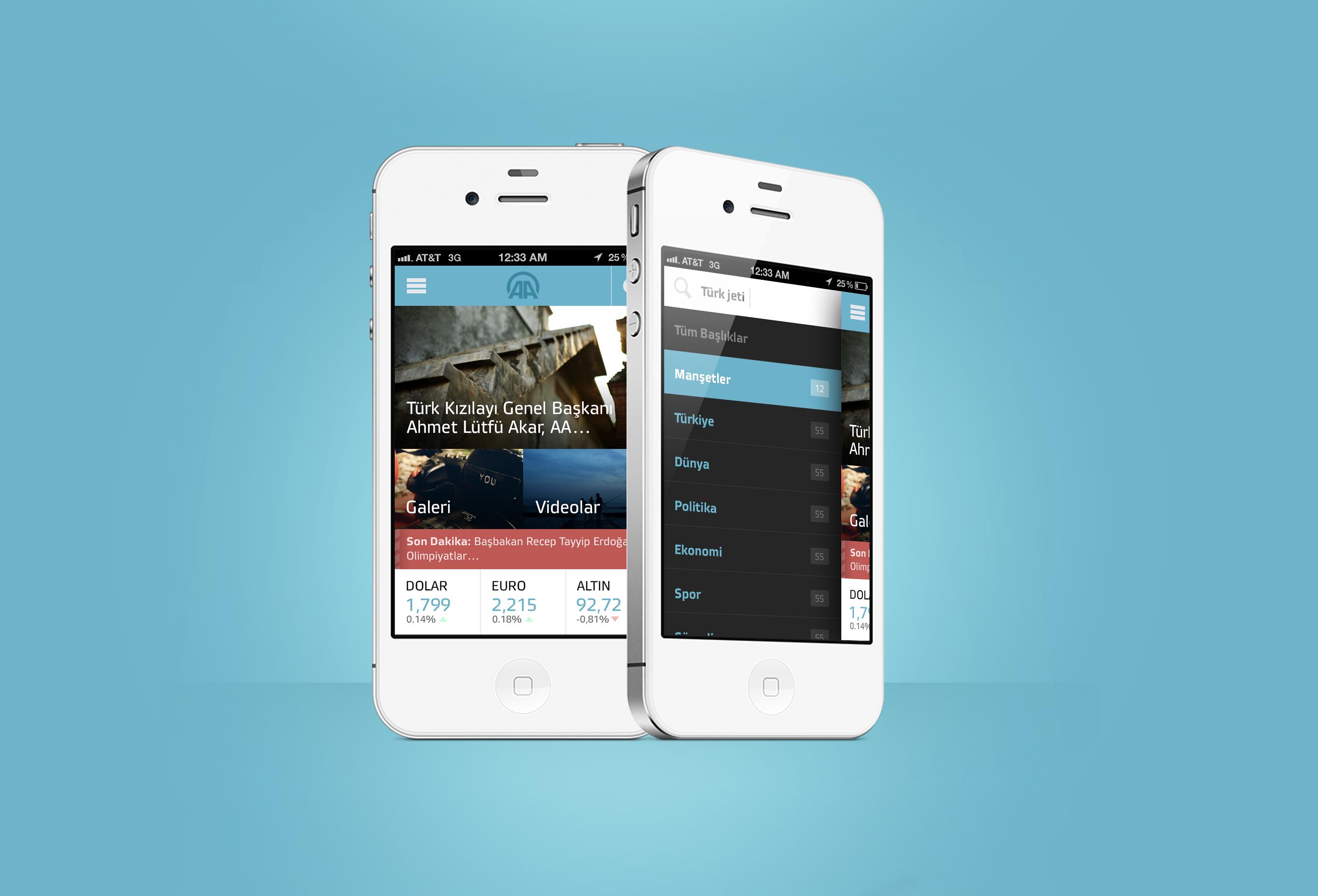 Anadolu Ajans News iPhone App