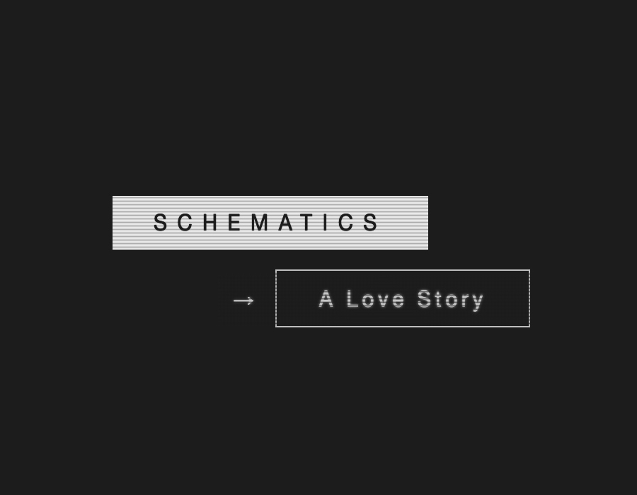 Book : Schematics : A Love Story