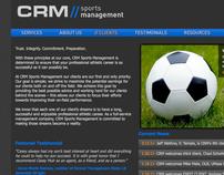 CRM Sports Management Website