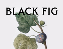 Black Fig | Packaging
