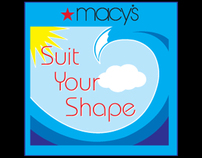 Macys Suit Your Shape hang tag