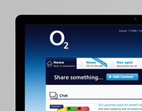 O2 Media Share- Internal Social Media Network
