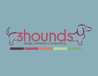 3Hounds - Logo & Business Card Design