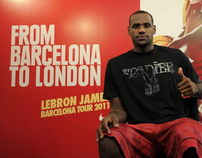 Lebron James Tour