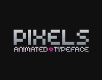 Pixels - Animated Typeface