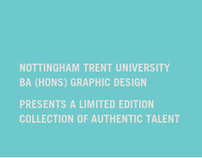 NTU Graphic Design Degree Show