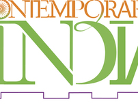 Contemporary India Exhibition logo