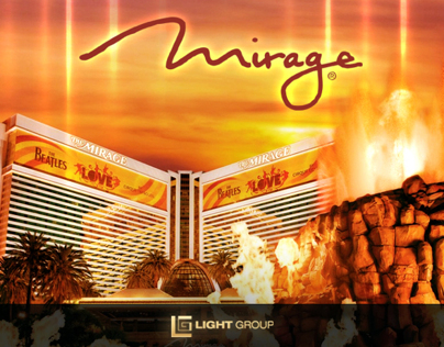 Mirage Las Vegas - Motion Graphics