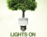 LIGHTS ON TO A GREENER WORLD