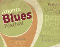 Atlanta Blues Festival - Poster Series
