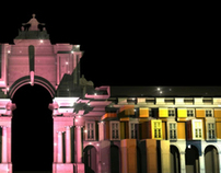 Projection Mapping - Terreiro do Paço, Lisboa