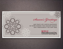 Boyle Fredrickson Holiday Client Card 2008