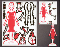 American Cancer Society Paper Dolls