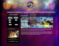 Redesign Commercial Website  - Hardrock Hotel